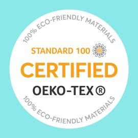 OEKO-Tex certified acupressure massage set